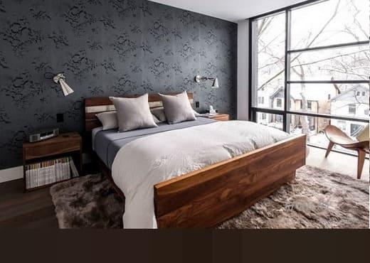 Кровать из массива КМ 219