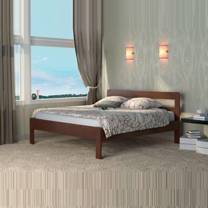 Кровать из массива КМ 220