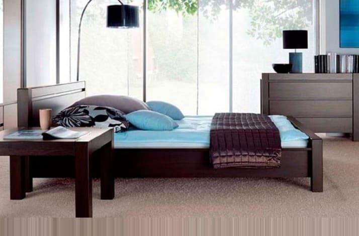 Кровать из массива КМ 222