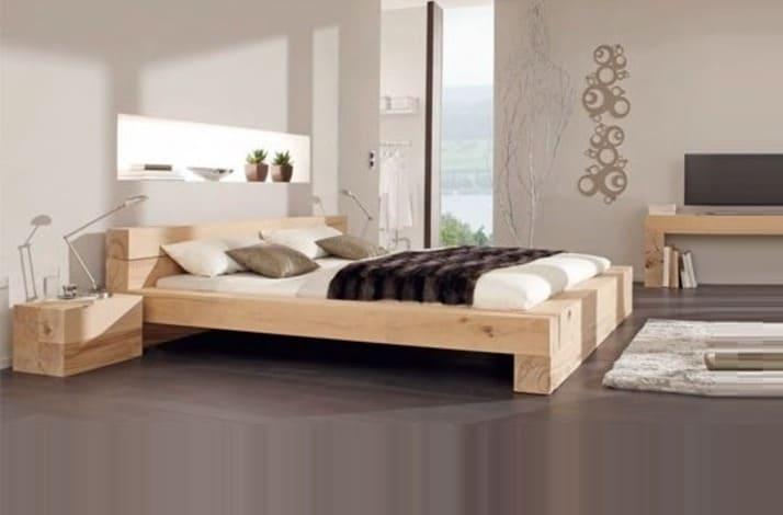 Кровать из массива КМ 225