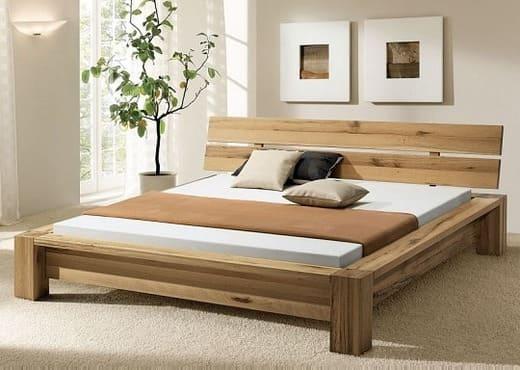 Кровать из массива КМ 226