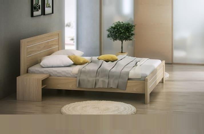 Кровать из массива КМ 227