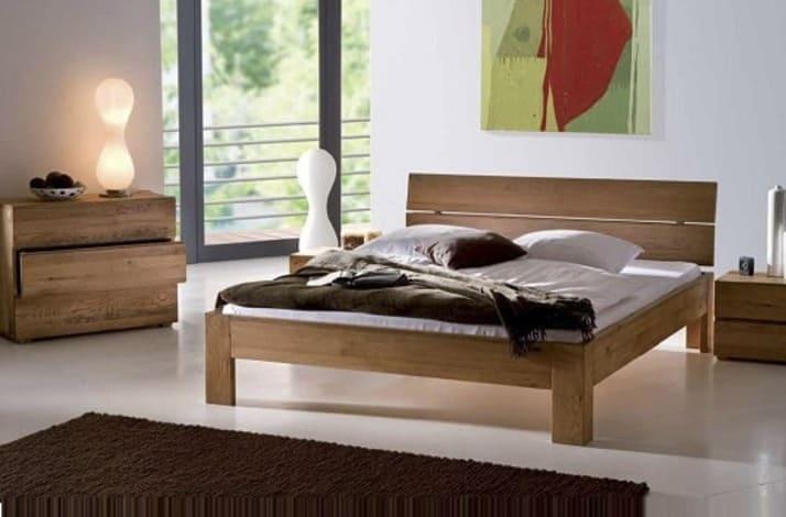 Кровать из массива КМ 211