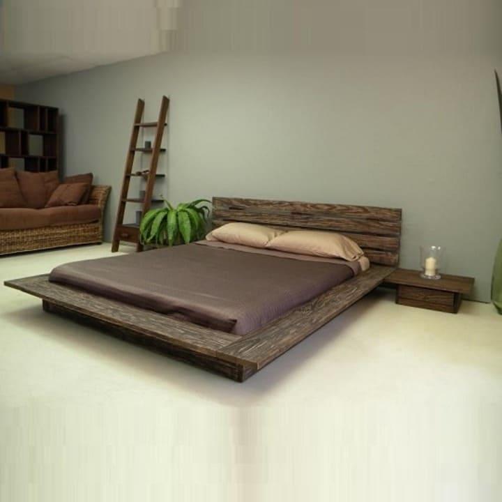 Кровать из массива КМ 229