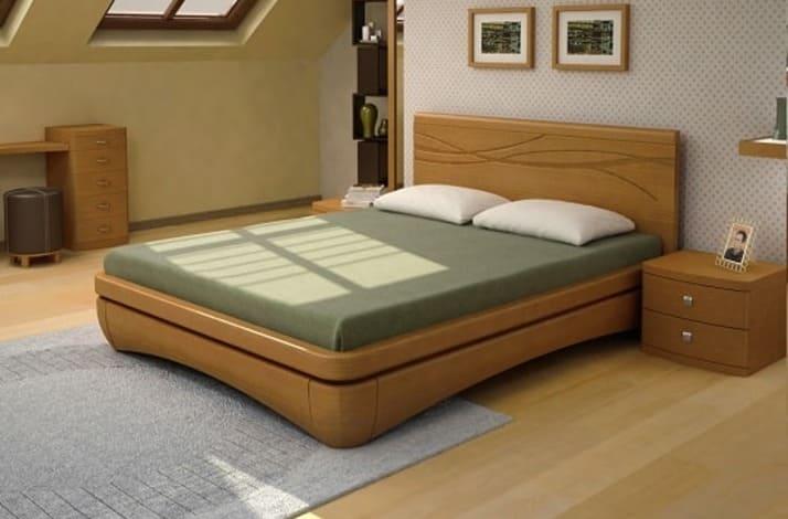 Кровать из массива КМ 230