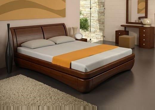 Кровать из массива КМ 231