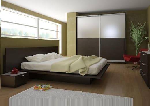 Кровать из массива КМ 233