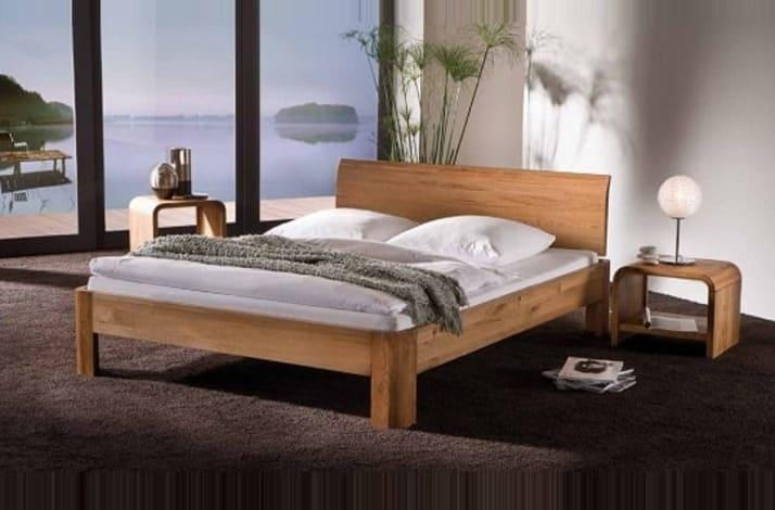 Кровать из массива КМ 212