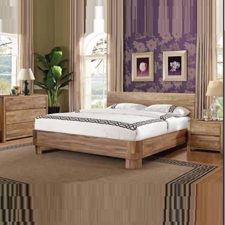 Кровать из массива КМ 214