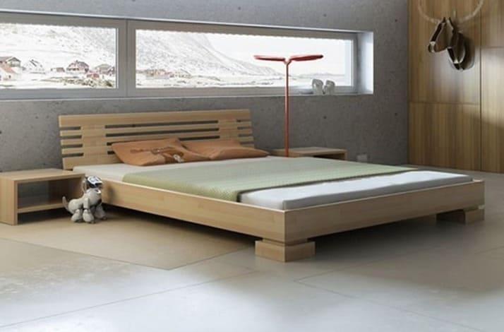 Кровать из массива КМ 216