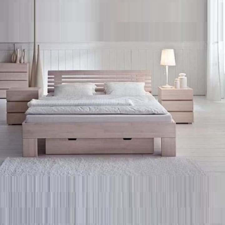 Кровать из массива КМ 218