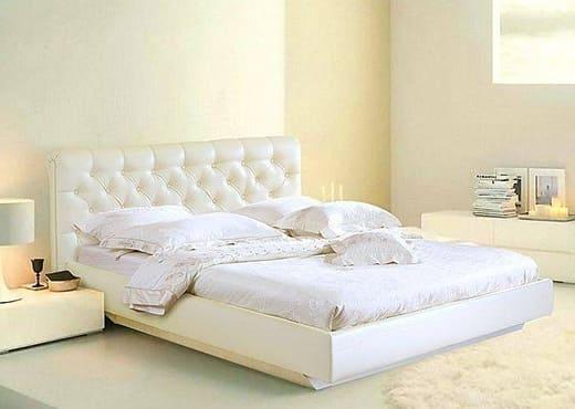 Кровать Легенда с мягким изголовьем КИ-1