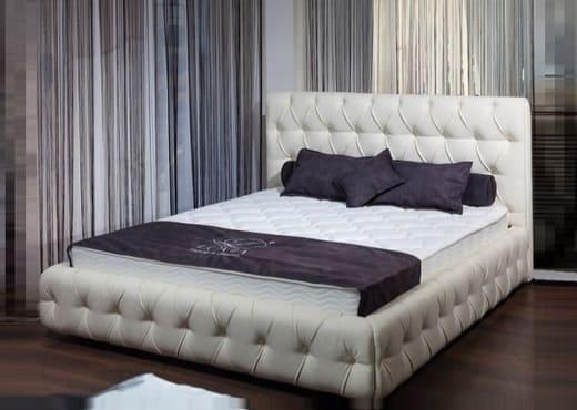 Мягкая кровать Элиза с изголовьем КИ-101