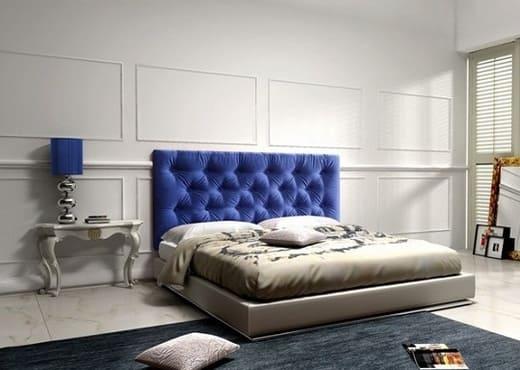 Мягкая кровать Альба с изголовьем КИ-36