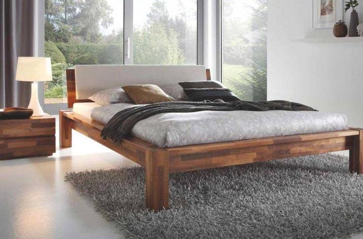 Кровать из массива КМ 404