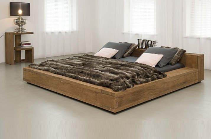 Кровать из массива КМ-203