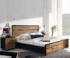 Кровать из массива КМ-205
