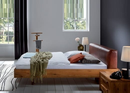 Кровать из массива КМ-206