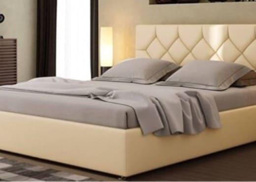Кровать из экокожи КН-103