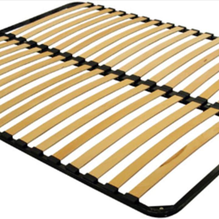 Кровать из экокожи КН-336