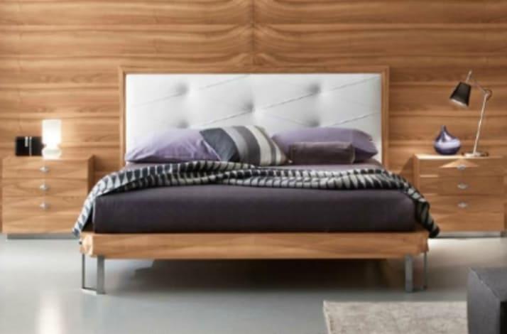 Кровать из экокожи КН-22
