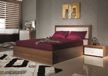 Кровать двуспальная КД-75