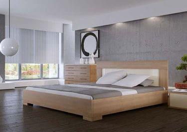 Кровать двуспальная КД-76