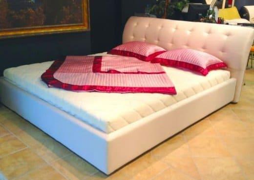 Кровать из экокожи КН-35