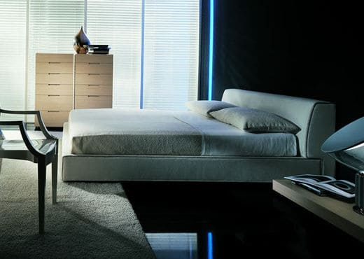 Кровать из экокожи КН-55