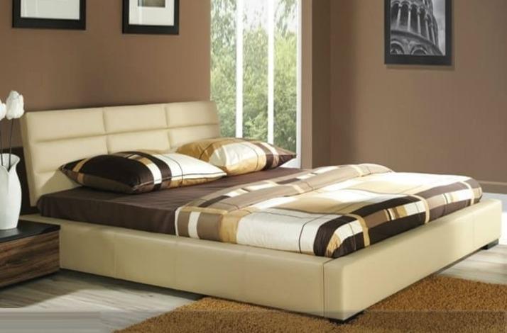 Кровать из экокожи КН-34