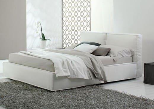 Кровать из экокожи КН-43