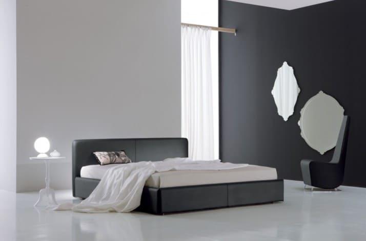 Кровать из экокожи КН-70