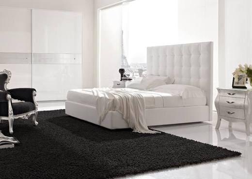 Кровать из экокожи КН-33