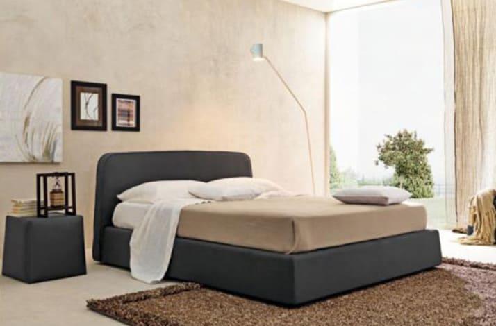 Кровать из экокожи КН-48