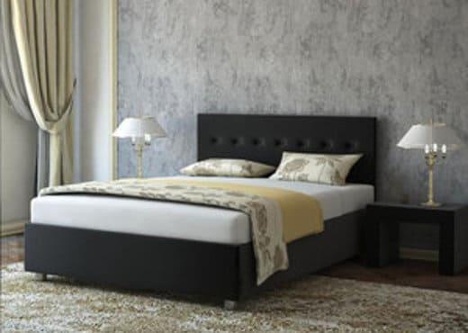 Кровать из экокожи КН-62