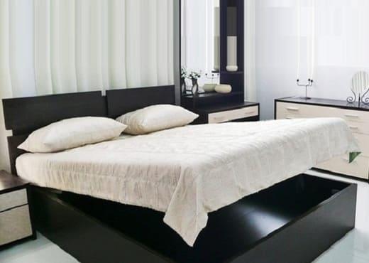 Кровать с подъемным механизмом КП-147