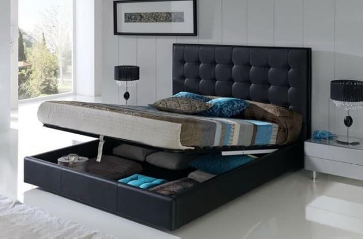 Кровать с подъемным механизмом КП-146