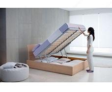 Особенности кровати с подъемным механизмом