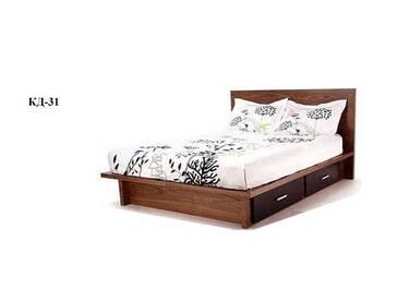 Кровать двуспальная КД-31