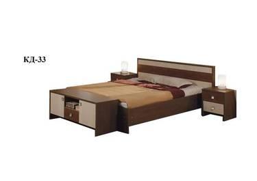 Кровать полуторная КД-33