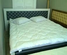 Кровать из экокожи КН-90