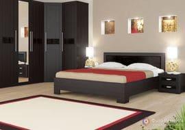 Кровать двуспальная КД-53
