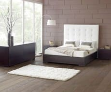 Кровать из экокожи КН-23