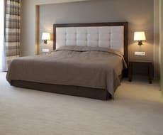 Кровать из экокожи КН-30