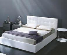 Кровать из экокожи КН-78