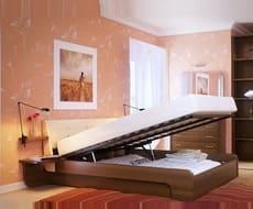 Кровать с подъемным механизмом КП-150
